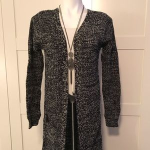 Long Knit Cardigan by Ambiance